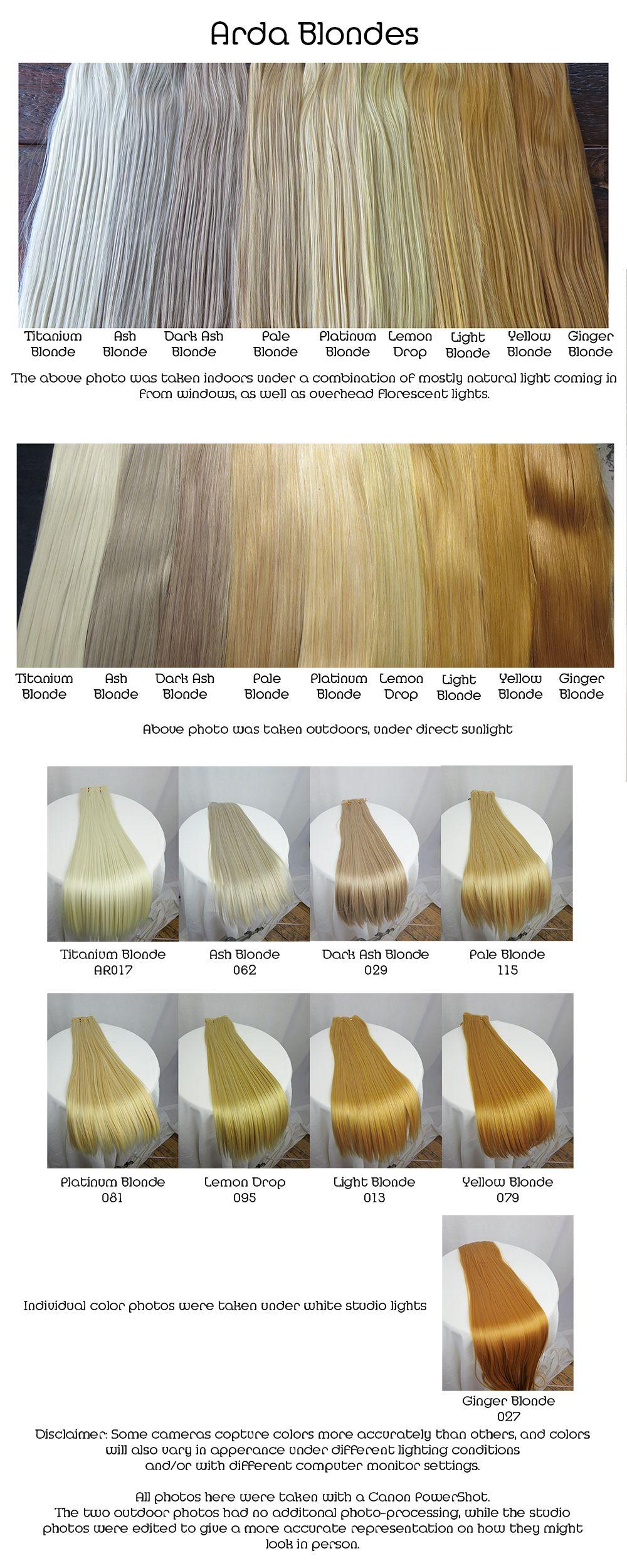 Arda Wigs Blondes Comparison Blonde Hair Black Girls White Hair