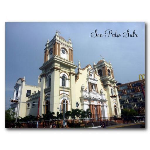 San Pedro Sula Postcard Zazzle Com San Pedro Sula Honduras Cathedral