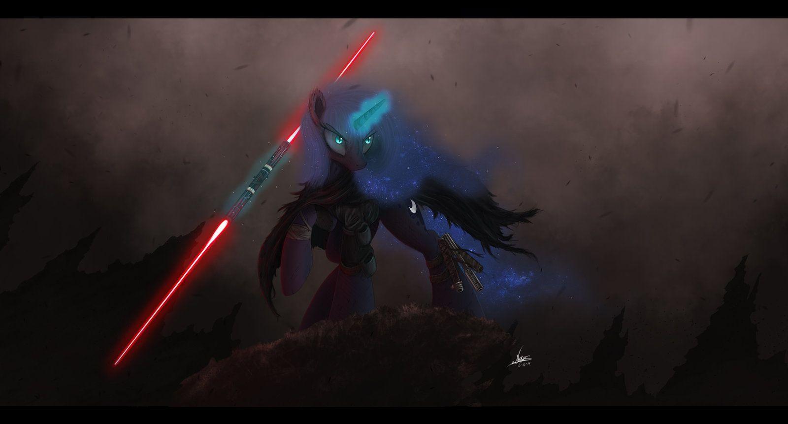 Sith Luna by NCMares on DeviantArt | Mlp, Nightmare moon, Mlp fan art