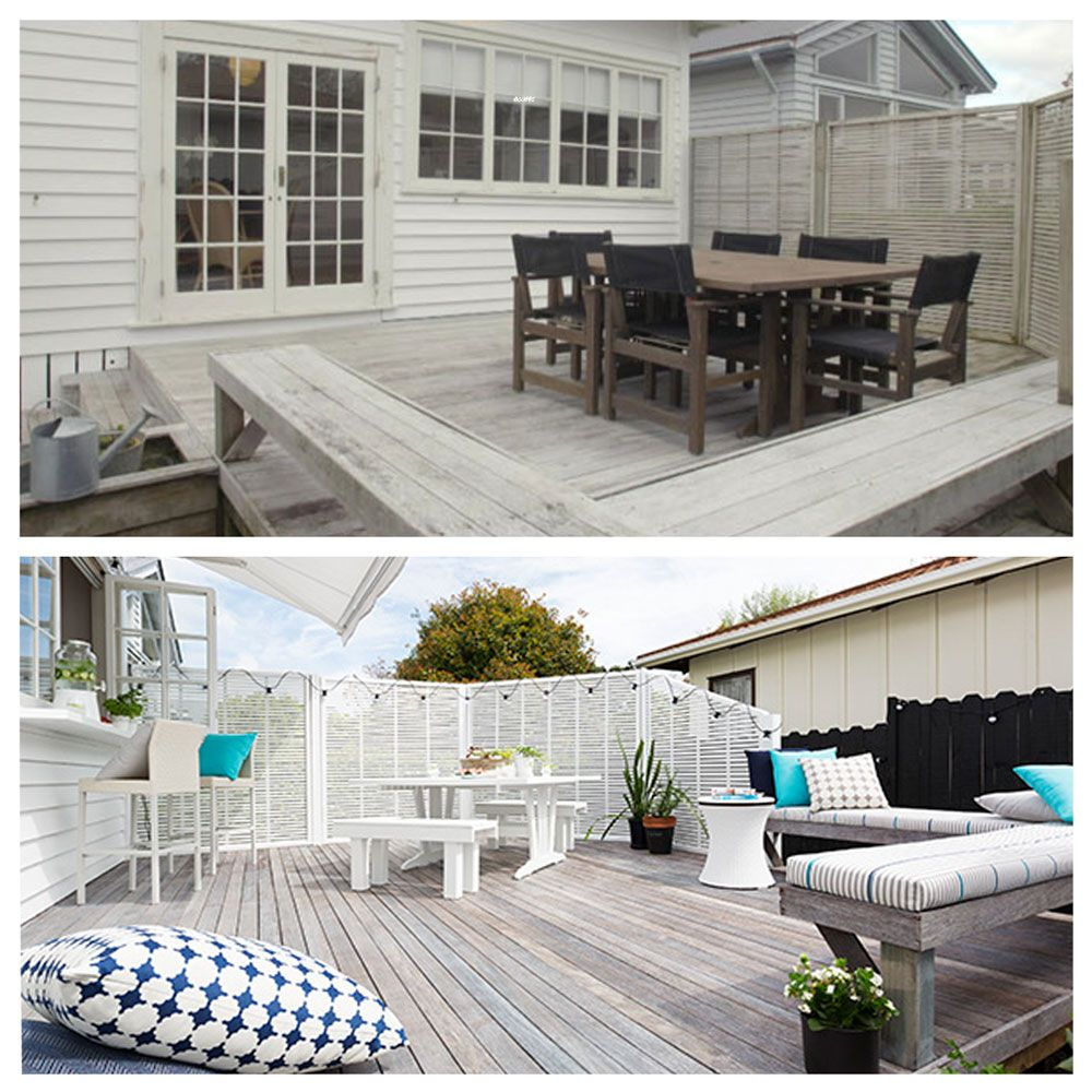 Watch this deck make over!