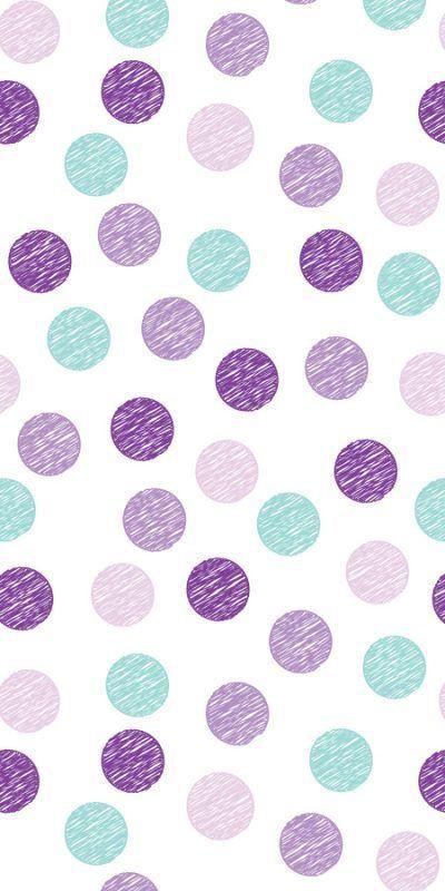 Scratched Dots Purple Polka Dots Wallpaper Dots Wallpaper Purple Wallpaper