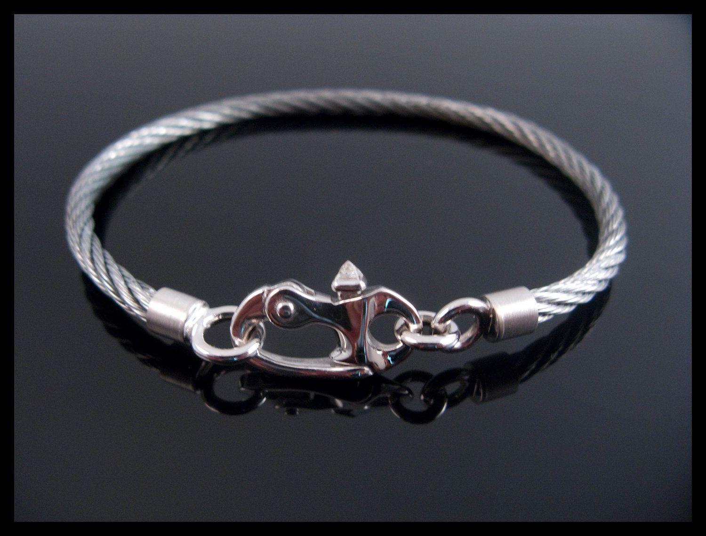 Cable bracelet.
