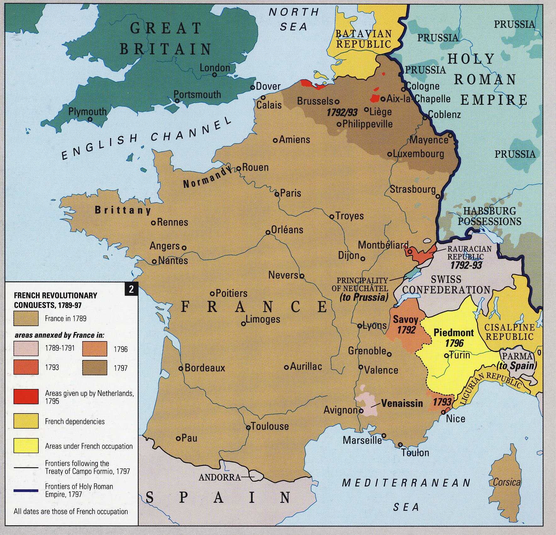 Historical Maps of France France map, French history