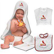 McArthur St. Louis Cardinals Toddler Team Towel & Bib Set