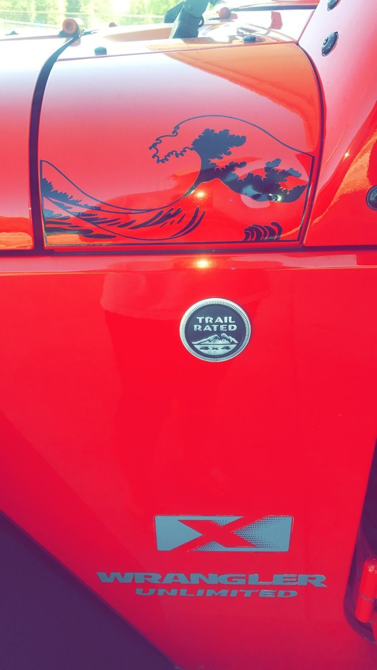 Jeep Engine Compartment Decals
