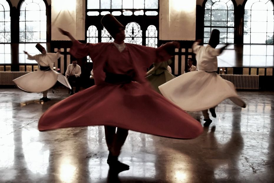 Dervishes Performing the Sema. Istanbul.
