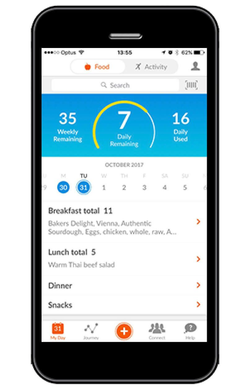 Image result for weight watcher app