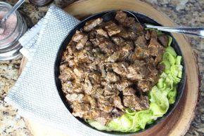 The Keto Diet Beef Stroganoff Shaved Beef Recipe