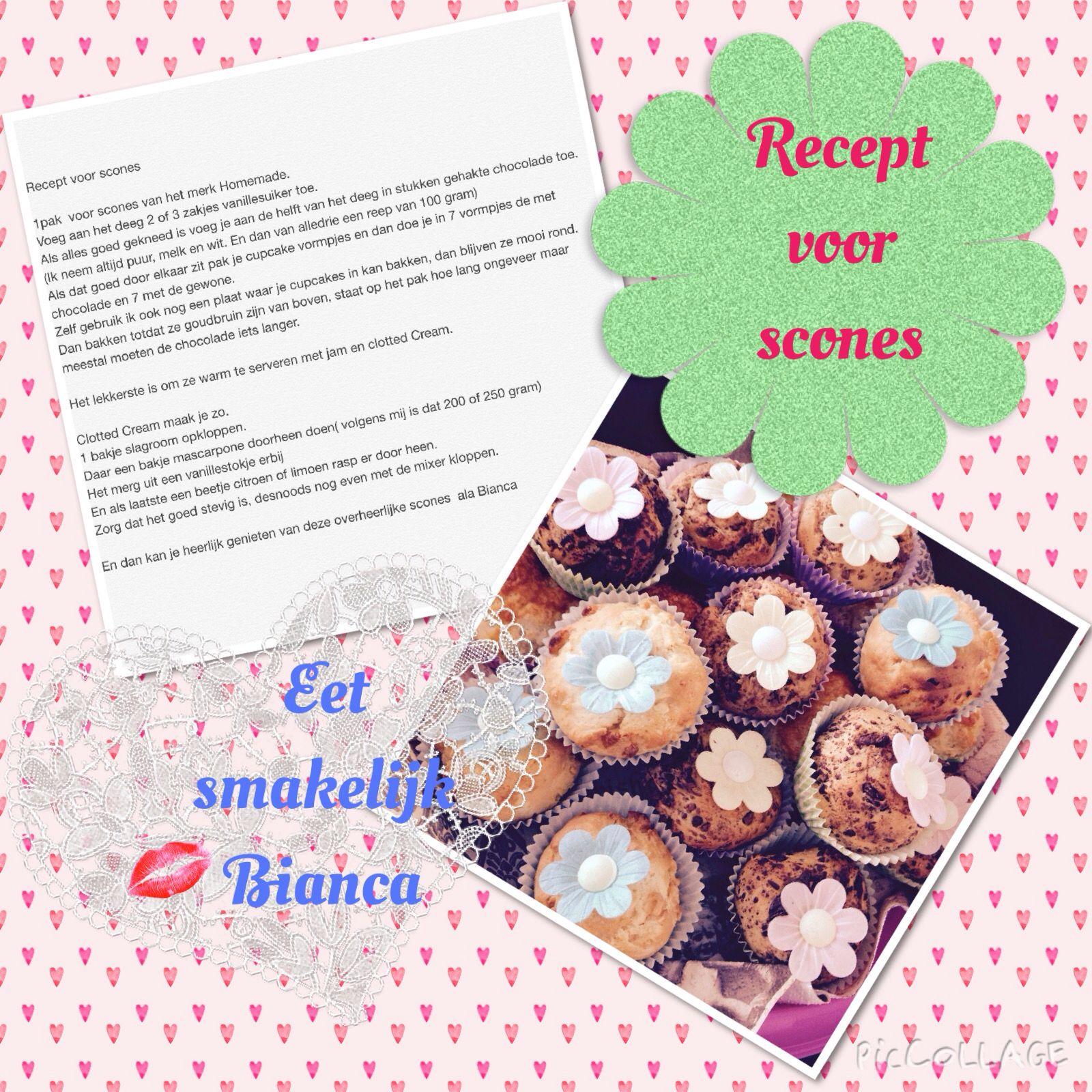 Recept voor scones