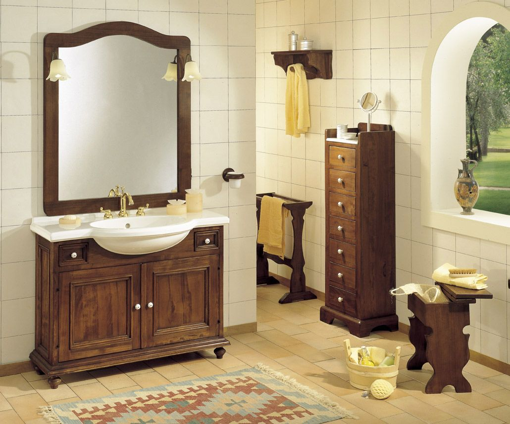Мебель для ванных комнат Mobili di Castello: Classici #hogart_art #interiordesign #design #apartment #house #bathroom #furniture #MobilidiCastello #shower #sink #bathroomfurniture #bath #mirror