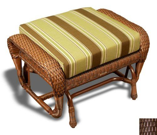 Pin it! :) Follow us :)) zPatioFurniture.com is your Patio Furniture Gallery ;) CLICK IMAGE TWICE for Pricing and Info :) SEE A LARGER SELECTION of  patio ottoman  at http://zpatiofurniture.com/category/patio-furniture-categories/patio-ottoman/-  #home #patio #homedecor #patioottoman  - Lexington Ottoman with Cushion Finish: Java « zPatioFurniture.com