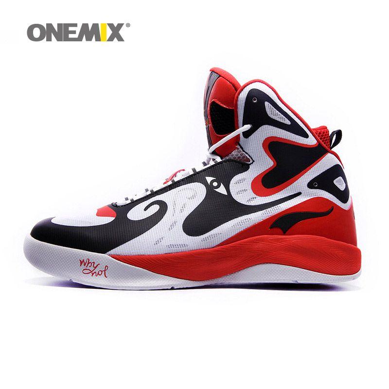 d3a8cf3a671e Onemix unique design men s basketball shoes original men s sneakers  athletic sport shoes size US7-US12