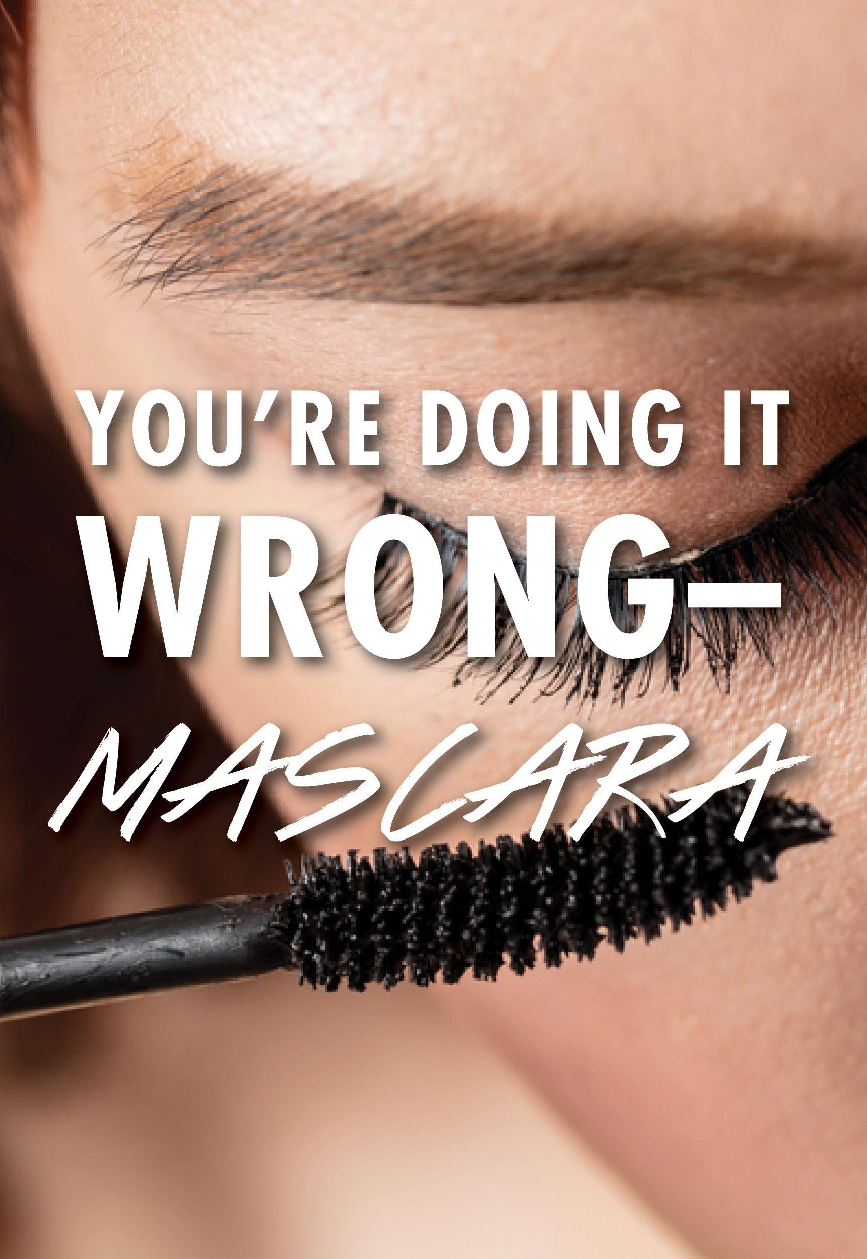 How To Apply Mascara How to apply mascara, Mascara tips