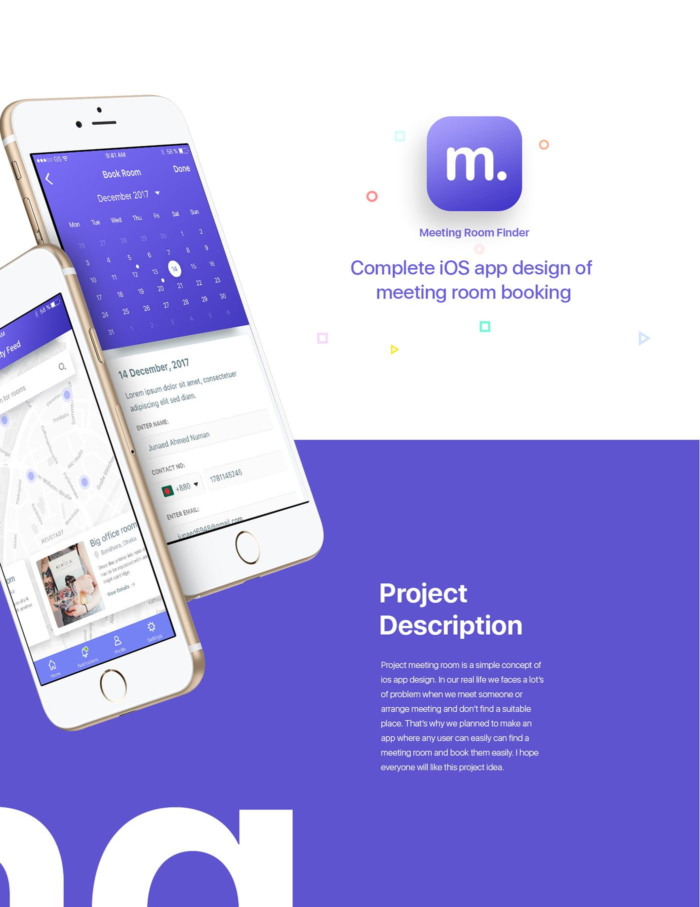 App To Design Your Room: Hello,Project Meeting Room Is A Simple Concept Of IOS App
