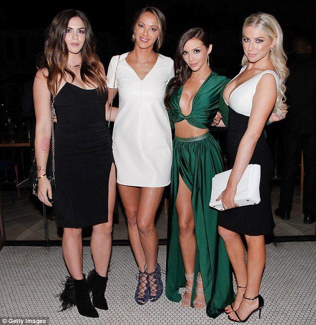 Leading ladies: The original female cast members included Katie, Kristen, Scheana and Jax's ex-girlfriend, Stassi