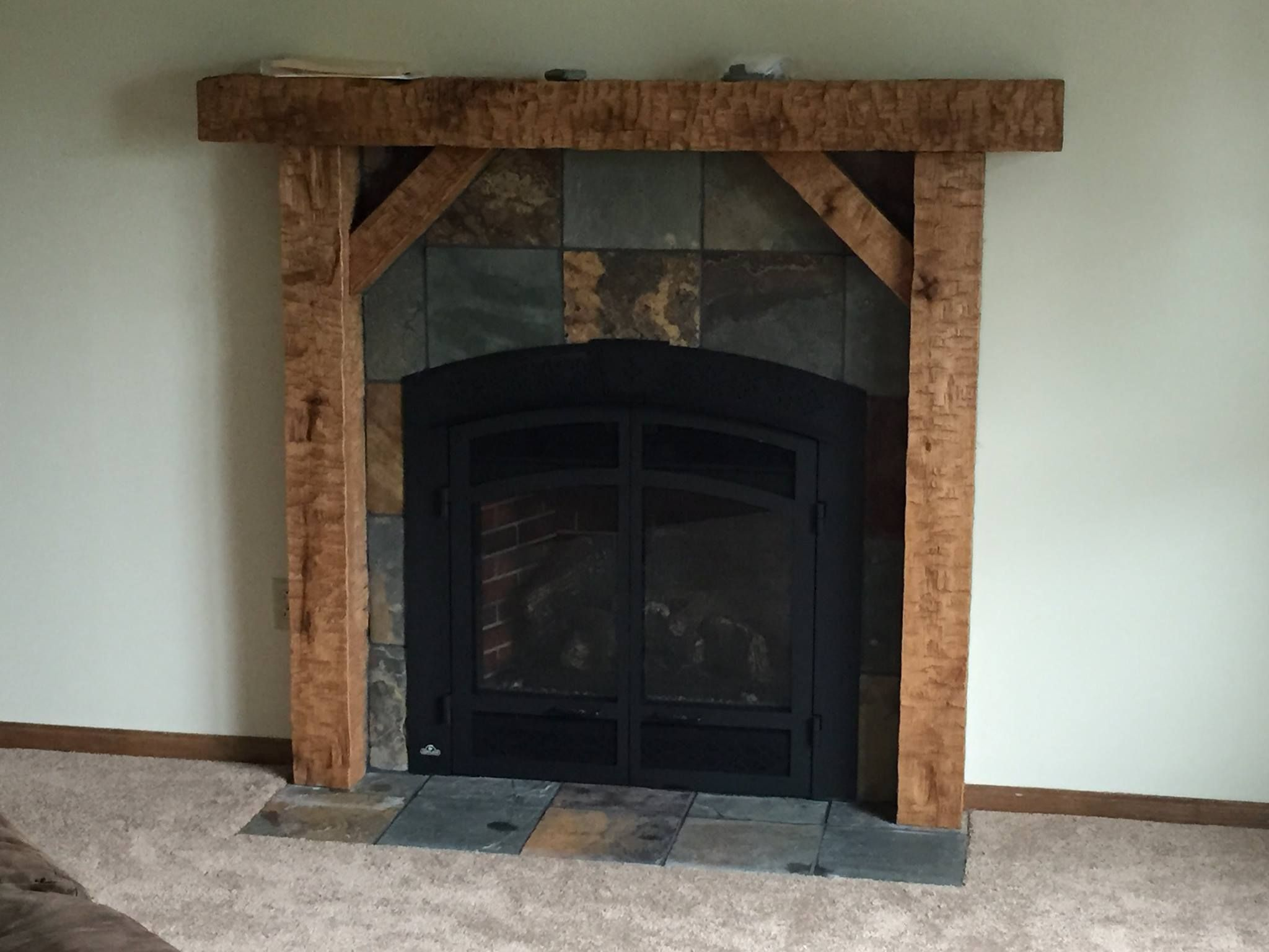 Slate Fireplace Wooster Ohio Quality Interiors Of Holmes County Llc Fireplace Slate Fireplace Fireplace Tile