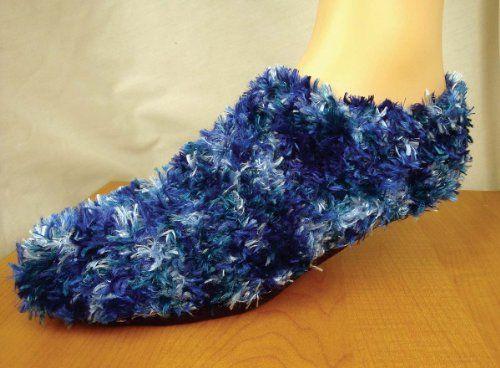 Fuzzy Footies BLUE/TEAL (bestseller)
