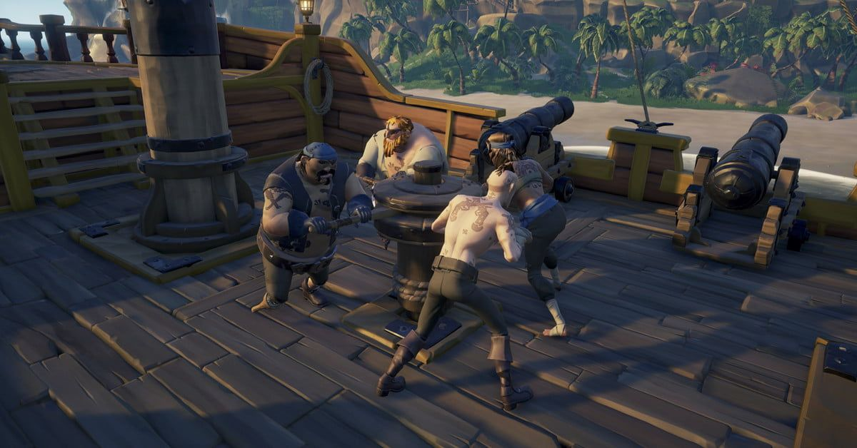 It S Dangerous To Go Alone Try Out Our Favorite Co Op Games Seaofthieves Seaofthieveswallpaper Seaofthievesar Sea Of Thieves Adventure Games Digital Trends