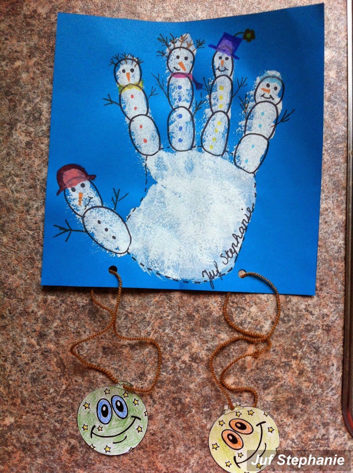 Juf Stephanie: Knutselen #kerstknutselenkinderen Juf Stephanie: Knutselen #themawinterpeuters