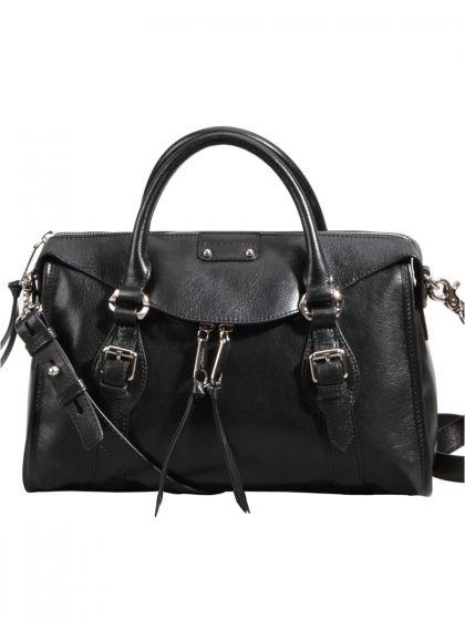 2ace82748c2d2 Gillivo stereoscopic pure black front flap satchel