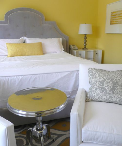 gray and yellow future home Pinterest Yellow gray bedroom