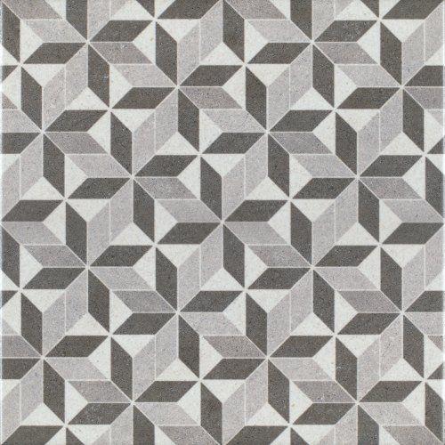 Decorative Tiles Uk Impressive Patterned Porcelain Floor Tile  Vintage Kubic  1 Square Metre Of Inspiration Design