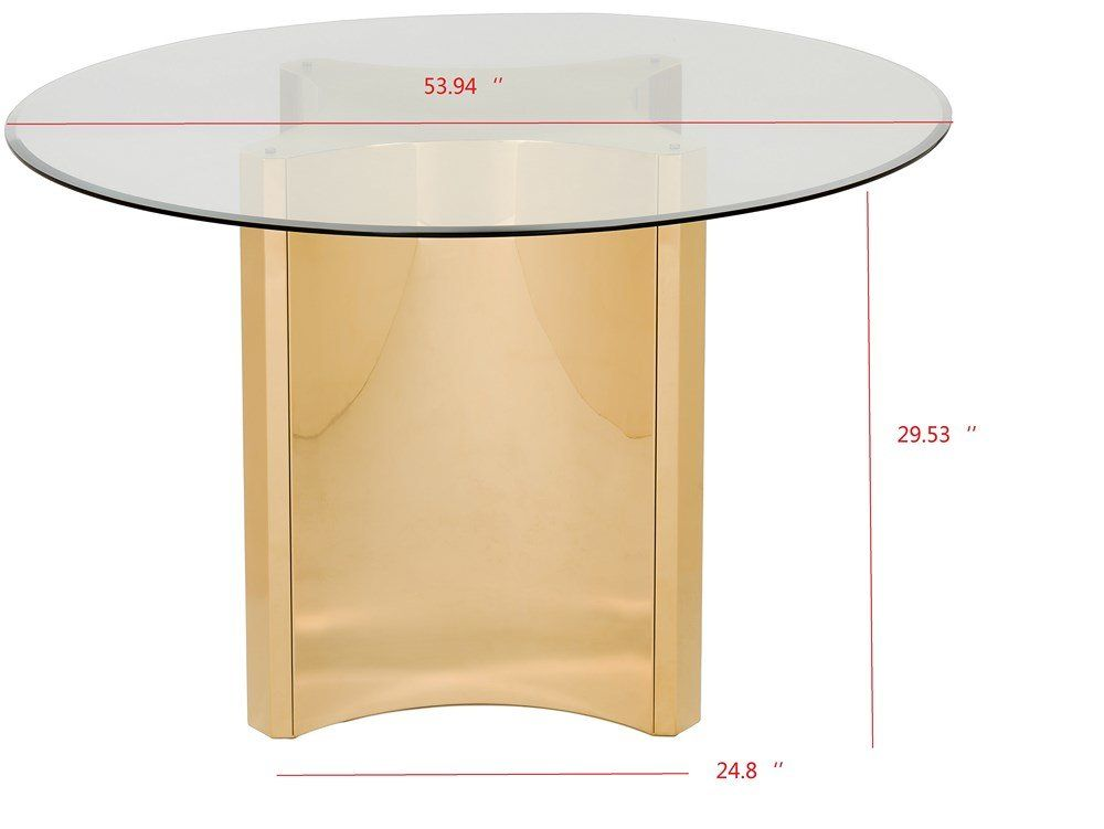 Safaviehcouture Couture Aiza Dining Table Perigold White Wooden Doors Custom Chandelier Dining Table