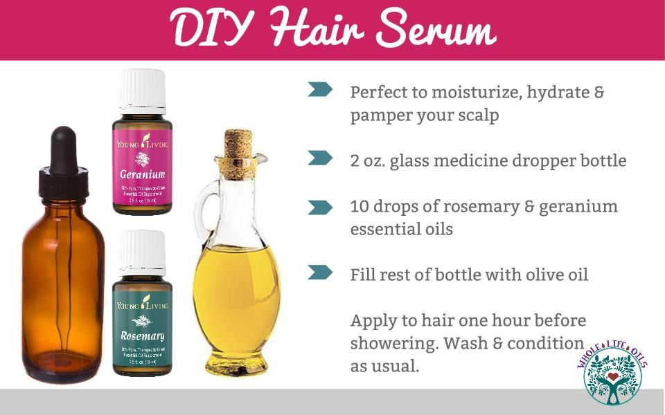 How To Get Glowing Skin And Hair Naturally With Essential Oils My Merry Messy Life Hair Serum Diy Hair Serum Essential Oils