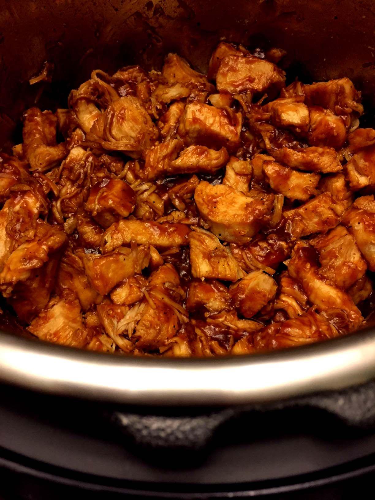 Photo of Instant Pot BBQ Chicken Recipe With Chicken B