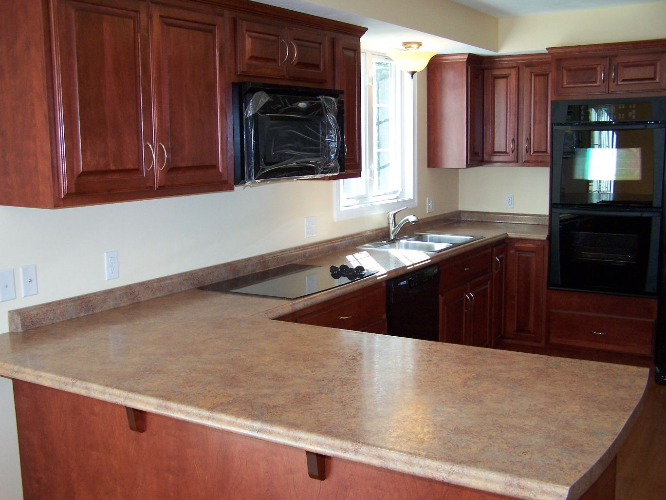 High Quality Oxford Kitchen Chery Cabinets High Def Counters (1368×1026)