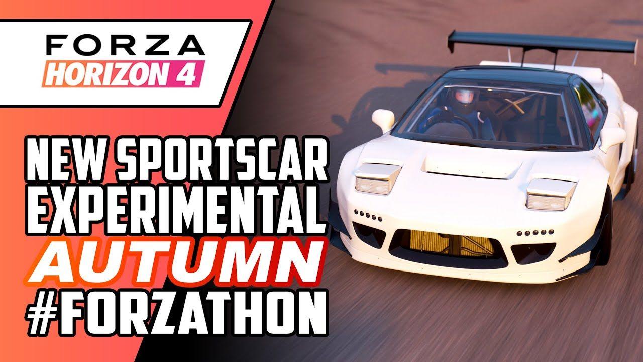 Forza Horizon 4 Autumn Forzathon New Sportscar Experimental