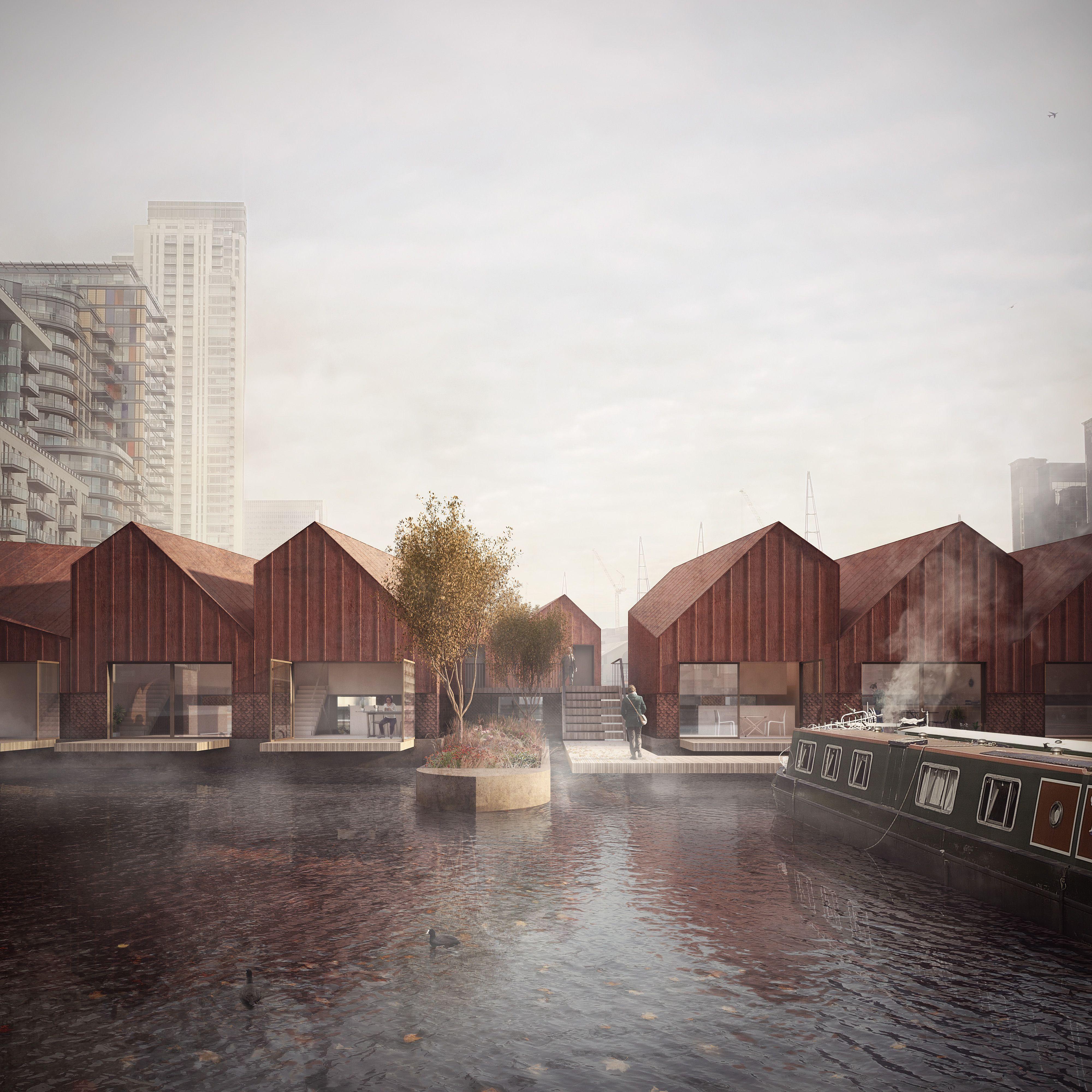 Duggan Morris - Millwall Dock ©FORBESMASSIESTUDIO #architektonischepräsentation