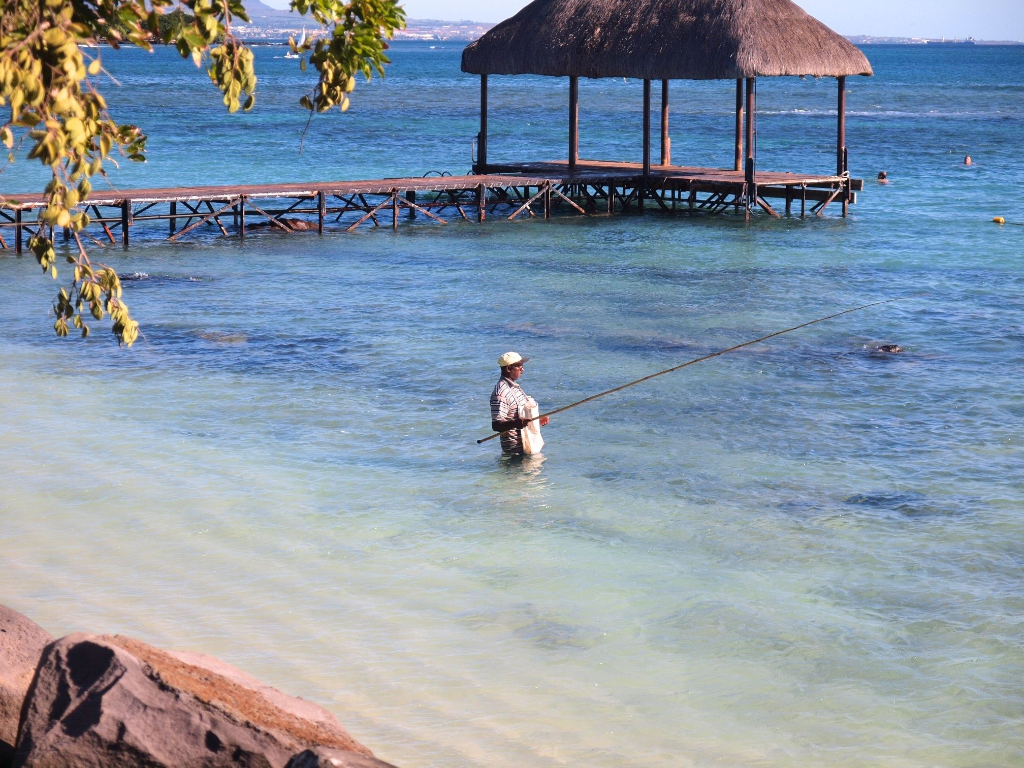 Mauritius Oberoi view from the pier