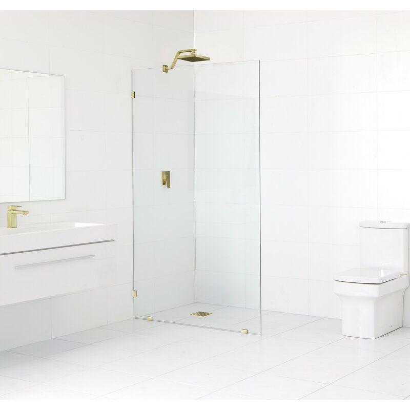 Lucite Shower Door Handles Polished Brass Satin Brass Shower