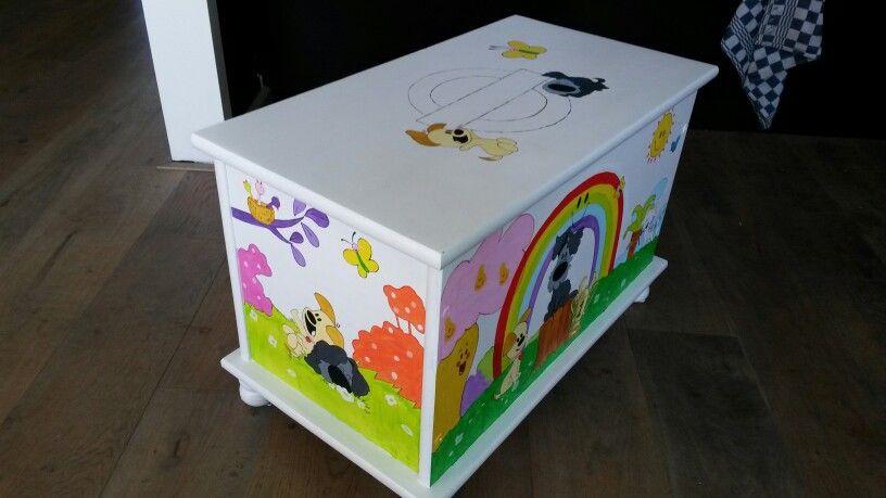 Woezel En Pip Opbergkist.Speelgoed Kist Met Woezel En Pip In 4 Seizoenen Kids Stuff