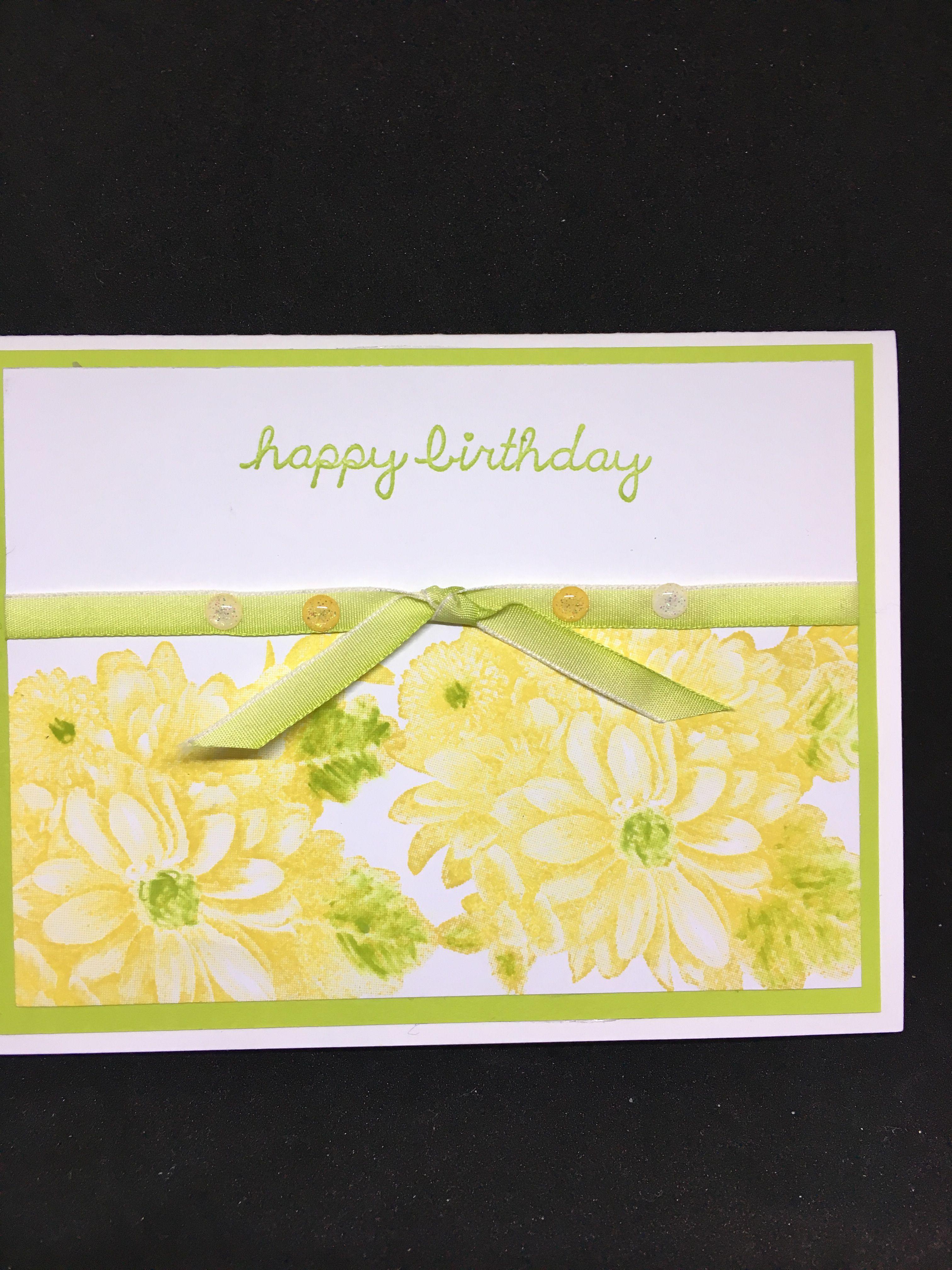 Heartfelt Blooms Su My Stampin Up Card Creations Pinterest