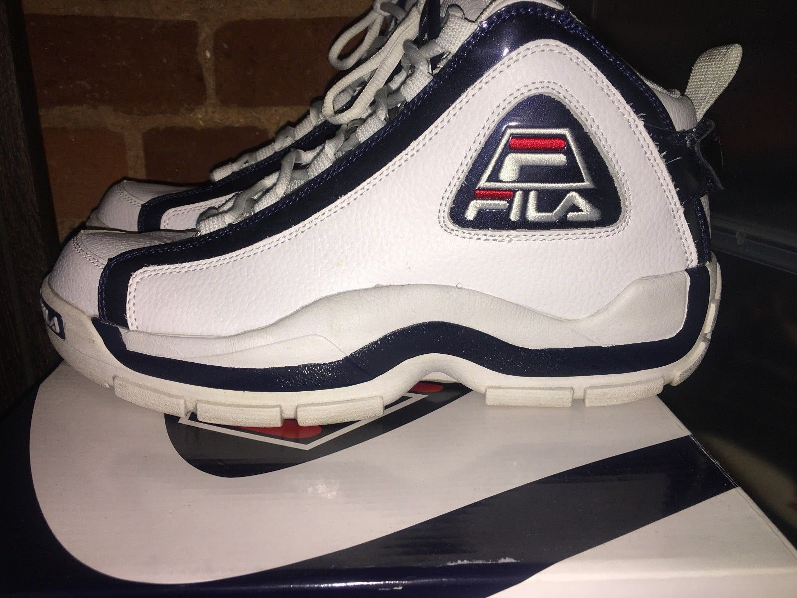 78667332667 Details about Men's FILA 96 OG GRANT HILL BASKETBALL SNEAKERS 2019 ...