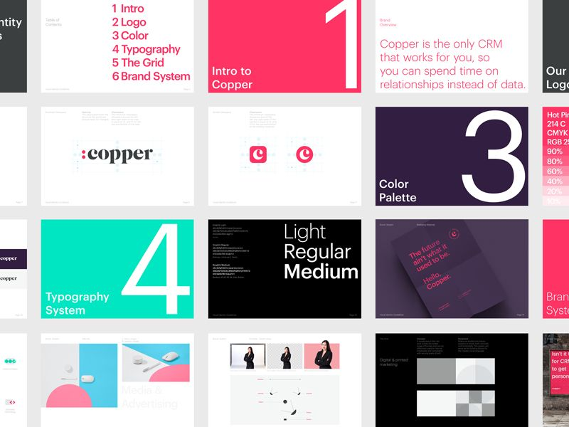 Copper Brand Guidelines Brand Guidelines Design Brand Guidelines Brand Identity Guidelines