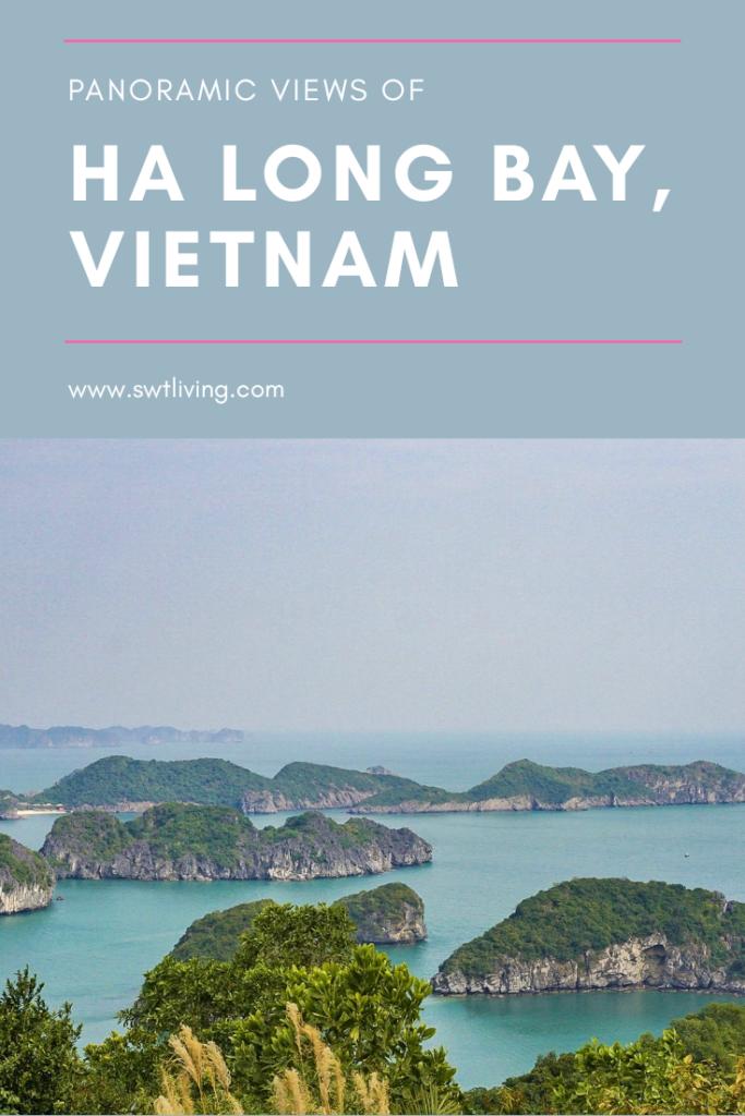 Panoramic Views of Halong Bay from Cat Ba Island Vietnam