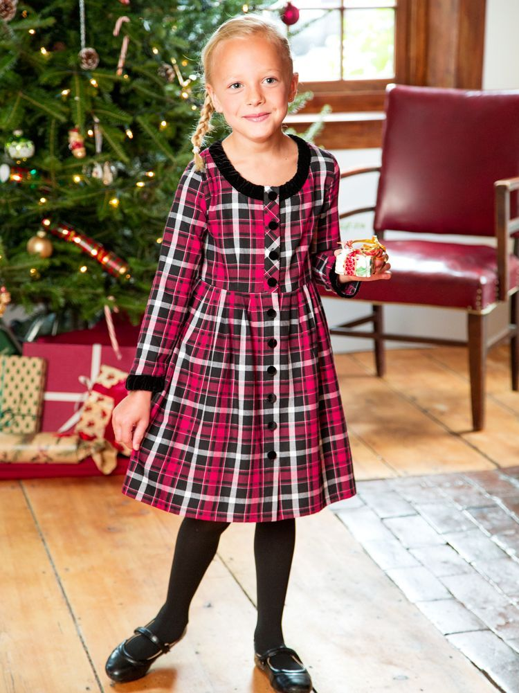Girls Holiday Dress from Vermont Store