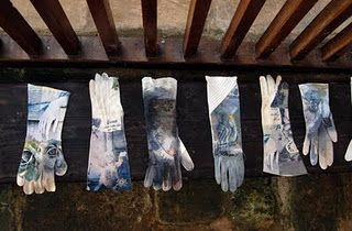 Mandy Pattullo - Photo transfers onto garments that tell a story
