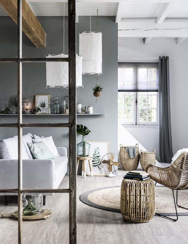 KARWEI | In deze kamer is er een mooie balans tussen grijstinten en ...