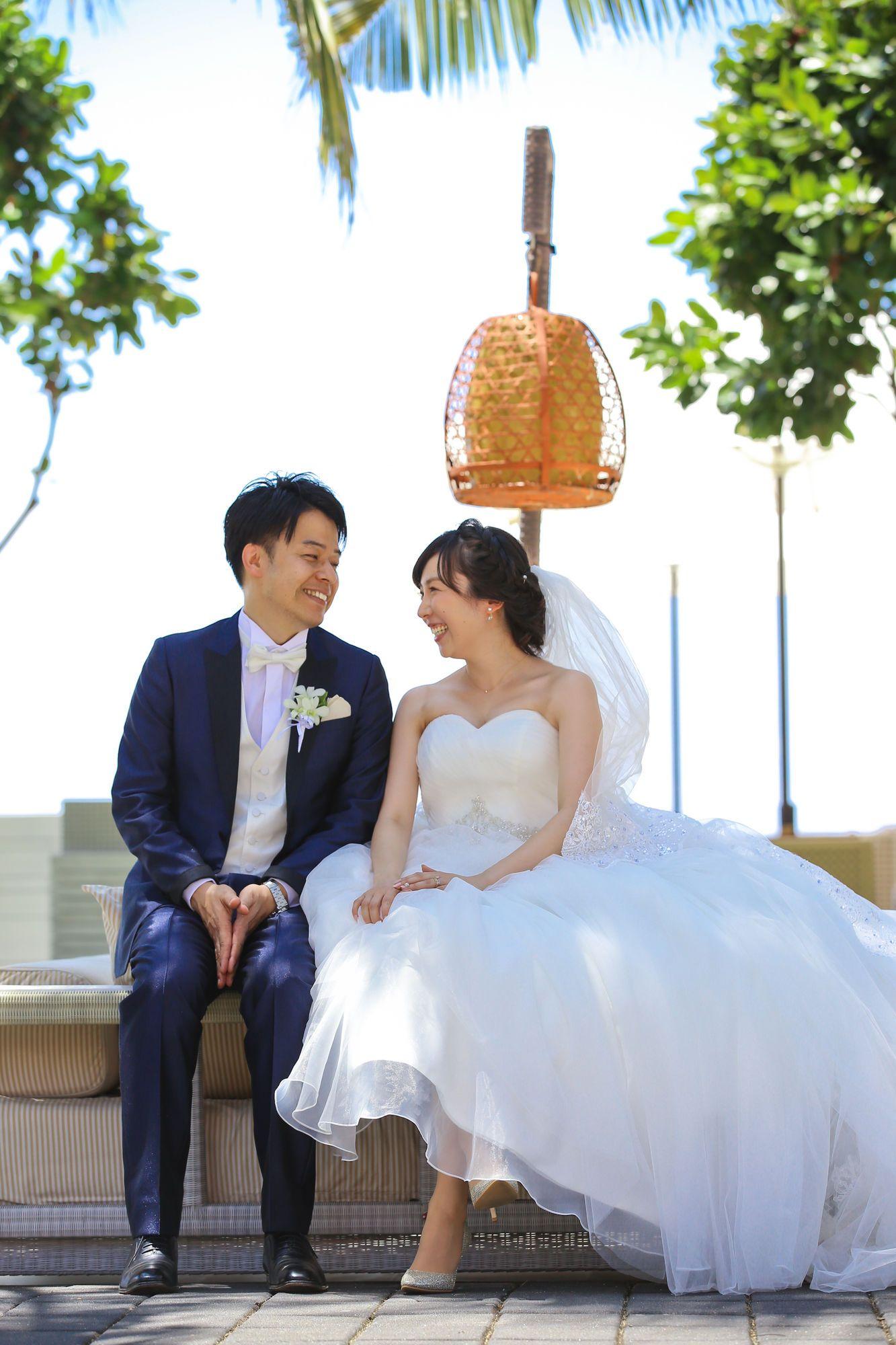バリ島で二人だけの結婚式 Hiro樣 Cocomelodyマガジン フラワーガールドレス ウェディングドレス 女の子のドレス
