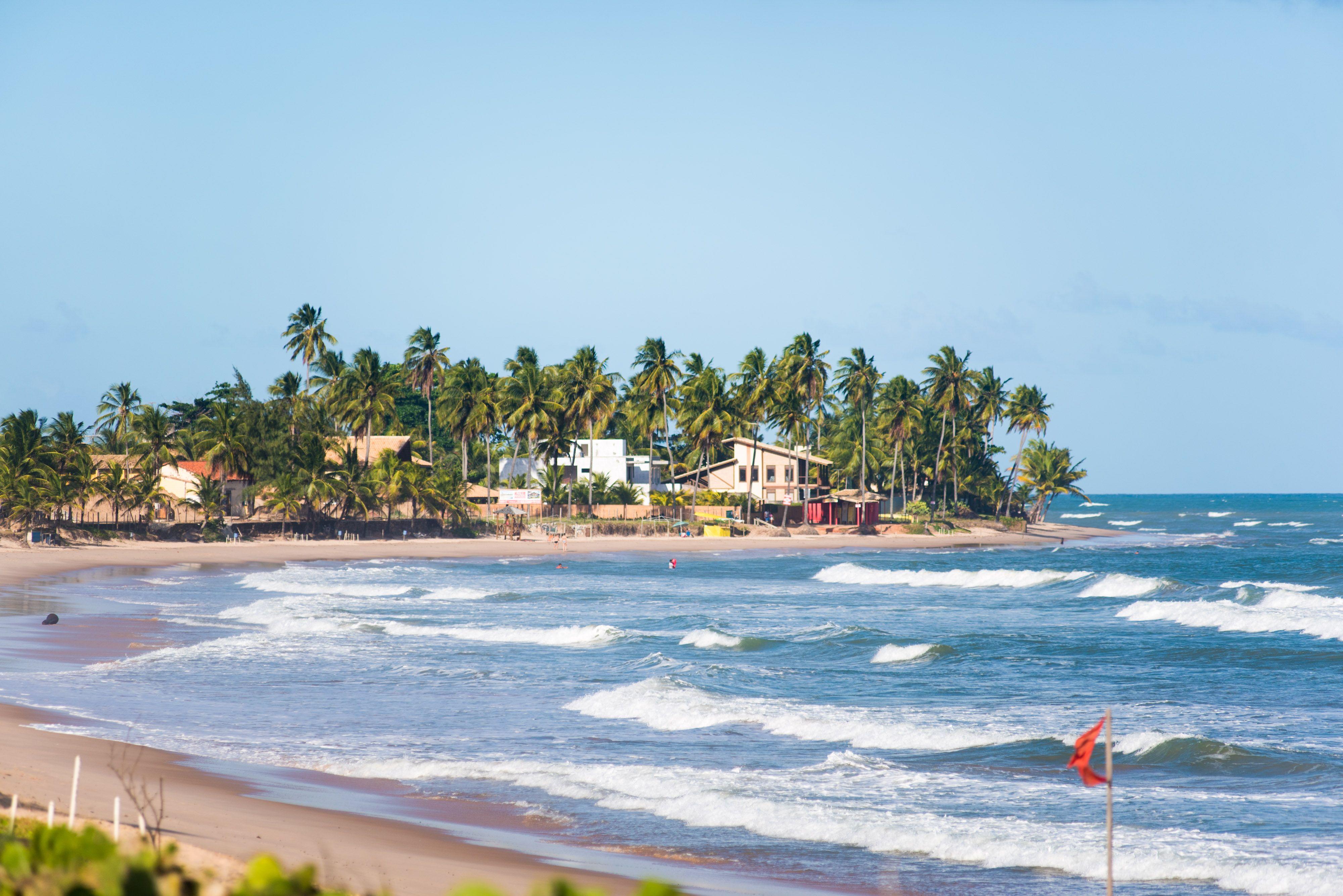 Praias Vila Gale Mares Bahia Brasil Com Imagens Praias Do
