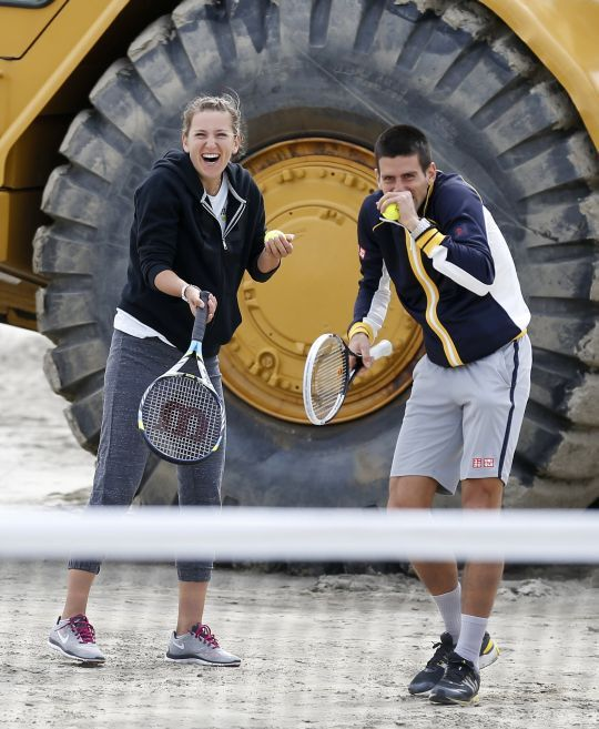 Novak Djokovic & Victoria Azarenka - upsss   Novak Đoković