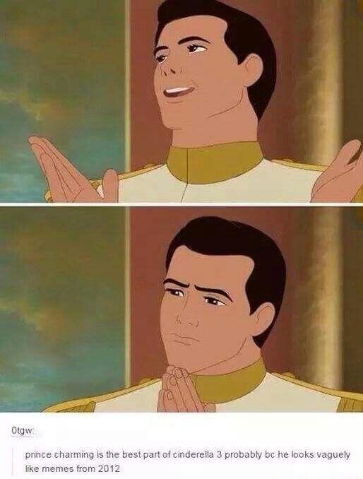 Prince Charming   Funny disney memes, Disney funny, Disney