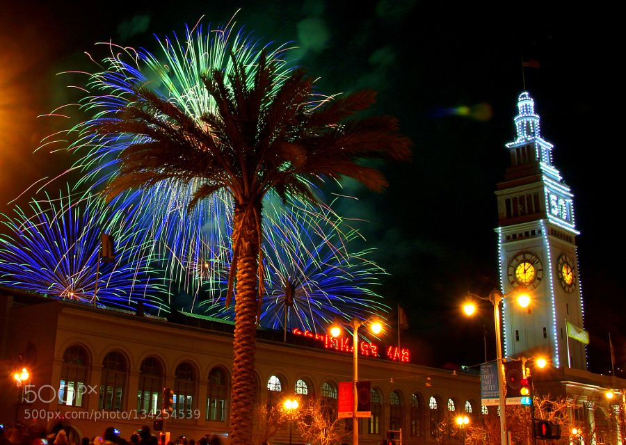 happy new year pinned by mak khalaf happy new year from san francisco ferry building