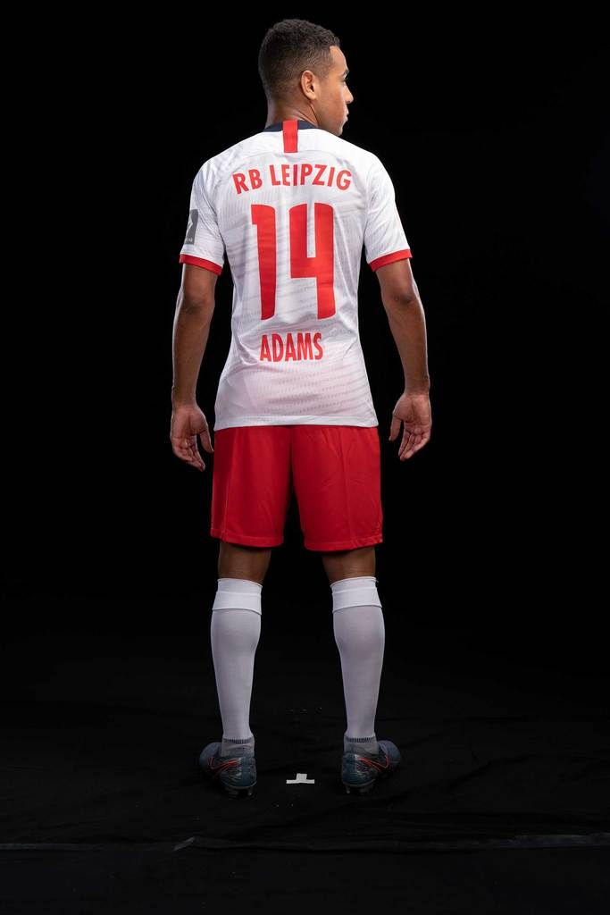 Rb Leipzig 19 20 Tyler Adams Home Jersey With Images Rb Leipzig Jersey Camo Jersey