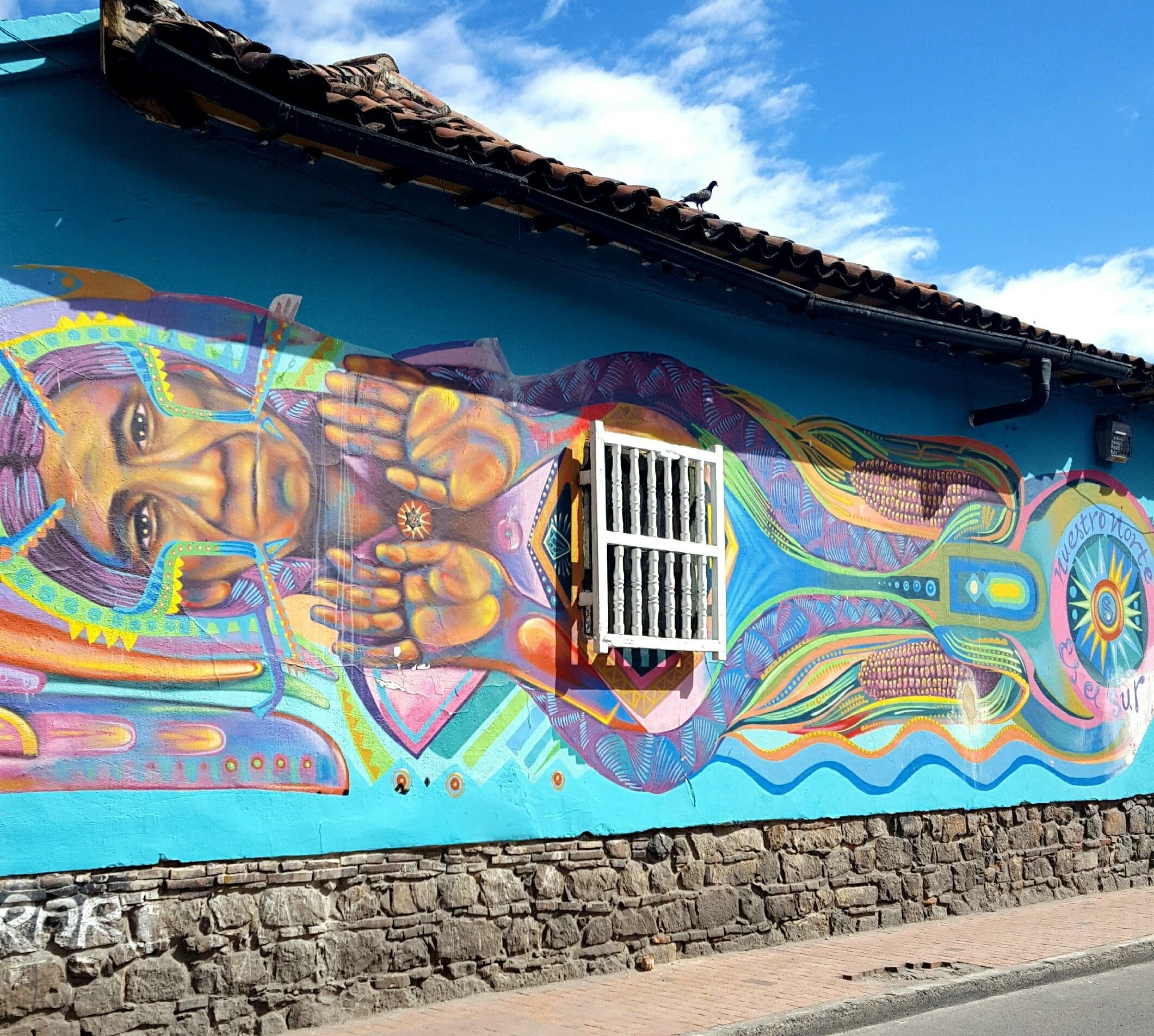 Who would have thought that Bogotá is such a street art paradise? Find more info and pics here: