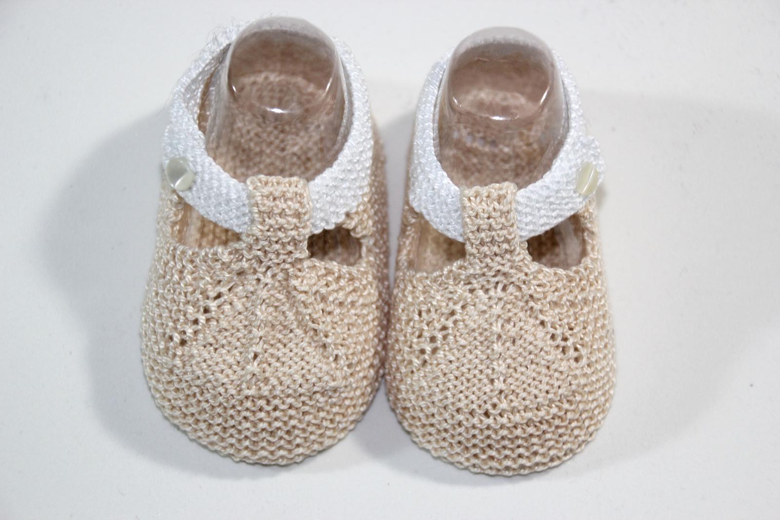 6 patrones gratis de patucos de bebe diy | Calzado y complementos ...